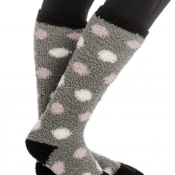 Horseware Softie Socks Grey Spot