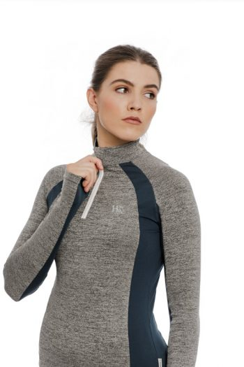 Hrseware Aveen Tech Top Grey Melange 1