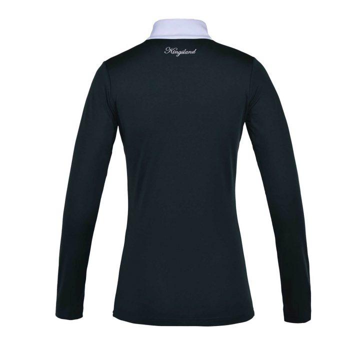 Kingsland KLhuslia Ladies LS Show Shirt Green back