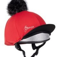 LeMieux Hat Silk Chilli Red 1
