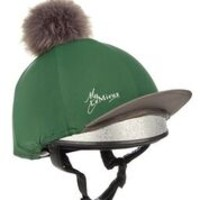 LeMieux Hat Silk Hunter Green 1