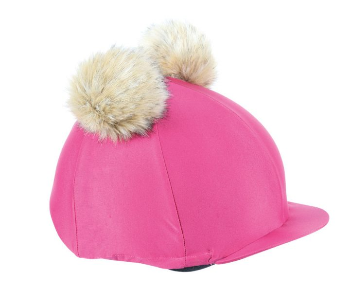 Shires Pink Double PomPom