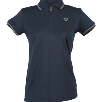 Aubrion Parsons Tech Polo Navy