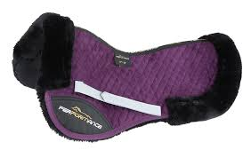 Shires Performance Suede Half Pad