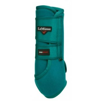 LeMieux Support Boots Peacock