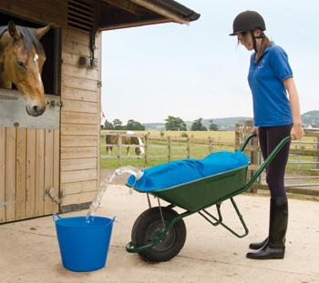 h2G0 wheelbarrow Water carrier