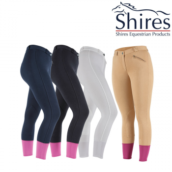 9198 Wessex Knitted Breeches Beige