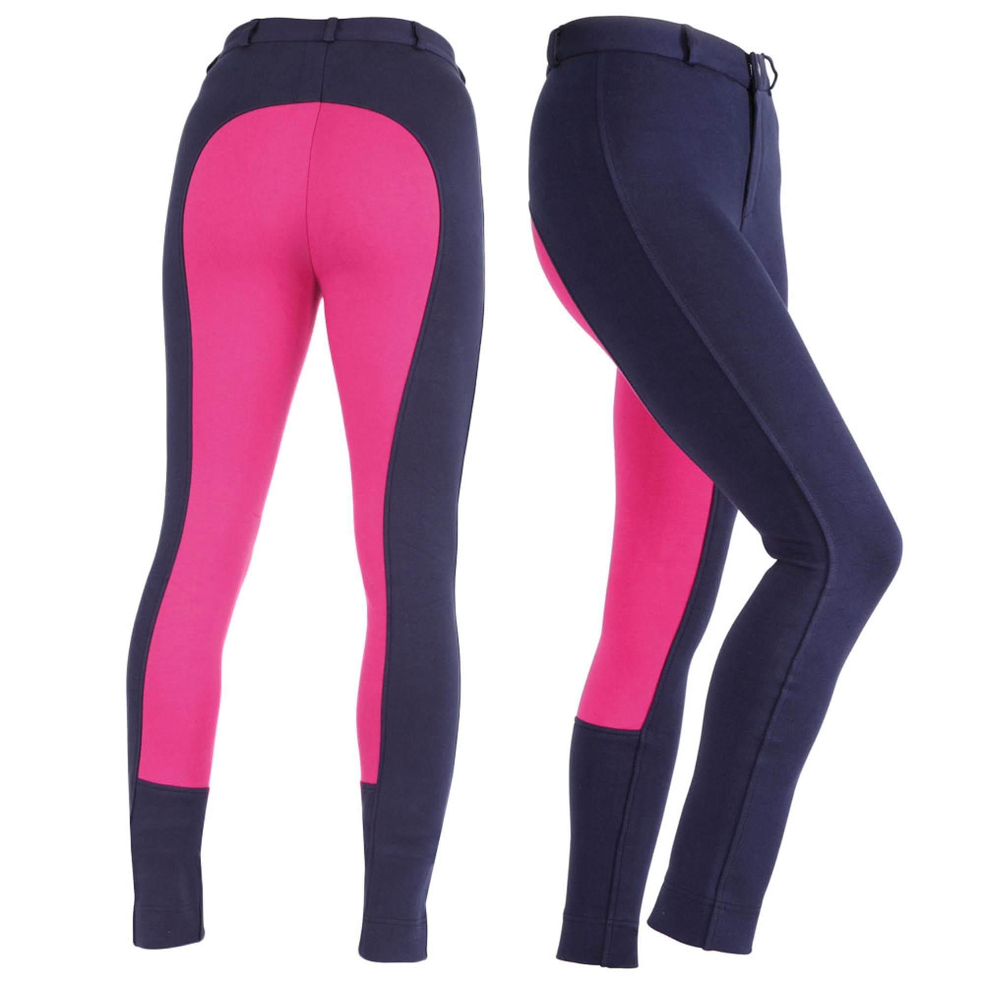 Red//Navy Shires Maids Two Tone Wessex Jodhpurs