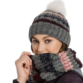 Horseware Hat and Snood Grey