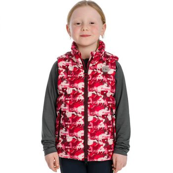 Horseware Kids Quilted Gilet Profile