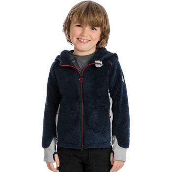Horseware kids sherpa fleece navy