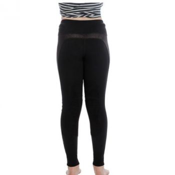 hw riding tights black