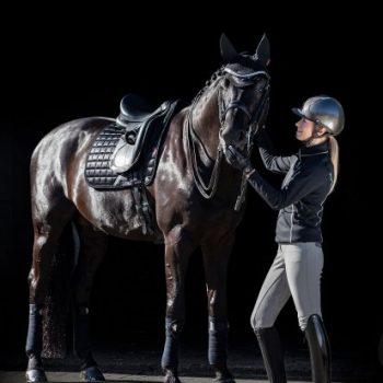 LeMieux Loire Black Saddle Pad