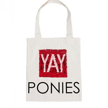 Horseware YAY ponies tote bag