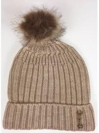 Grays Pom Pom Hat Cream