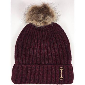 Grays Snaffle Hat Burgundy