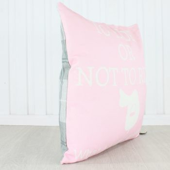 Grays To Ride or Not to Ride Cushion Pink