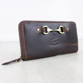 Grays Buffalo Leather purse