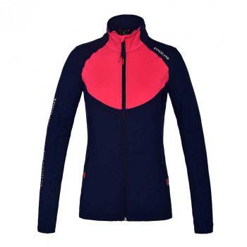 Kingsland Fleece Training Jacket Jeanine Red Geranium 1