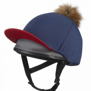 LeMieux Hat Silk Navy