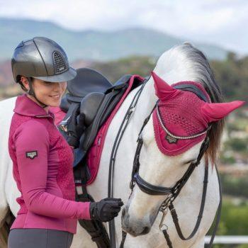 LeMieux Loire French Rose Saddle Pad