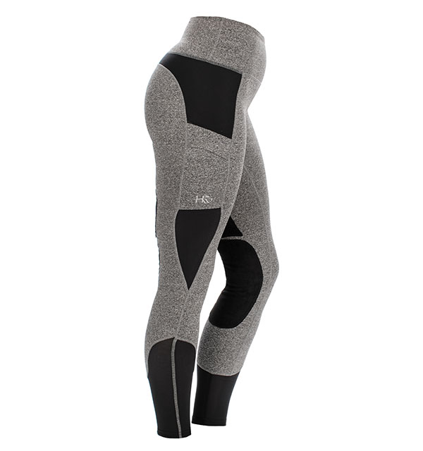 Horseware riding tights grey 1