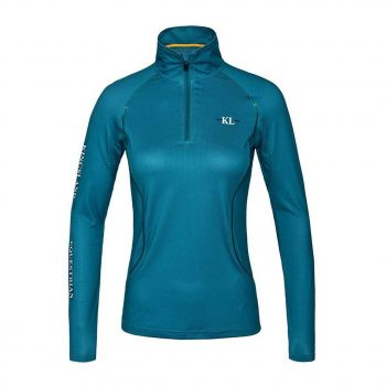 Kingsland Janki Ladies Training Shirt - Blue Lagoon